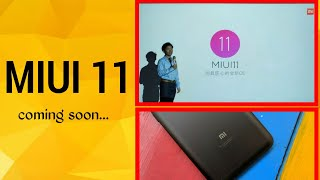 MIUI 11 Features & Release date in Hindi   miui 11 on Redmi note 5 pro & all other Redmi devices.