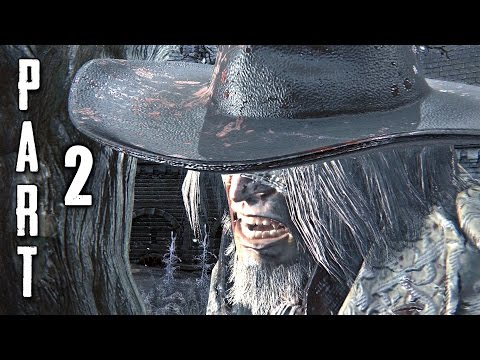 Bloodborne Walkthrough Gameplay Part 2 - Father Gascoigne Boss (ps4) video