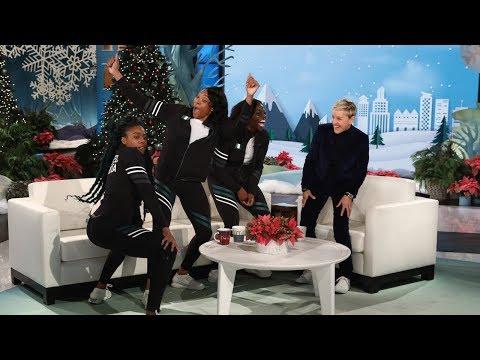 Ellen Meets the Amazing Nigerian Bobsled Team