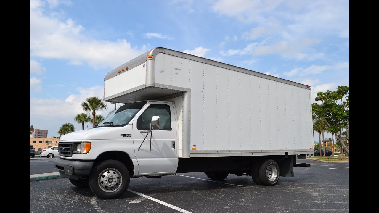 FORD POWERSTROKE DIESEL 7.3L FOR SALE BOX TRUCK E450 LOW ...