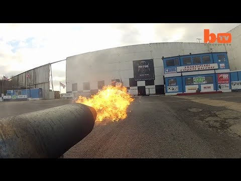 Homemade Jet Powered Go-Kart World Record Attempt