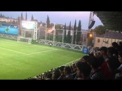 Начало матча Абхазия - Западная Армения