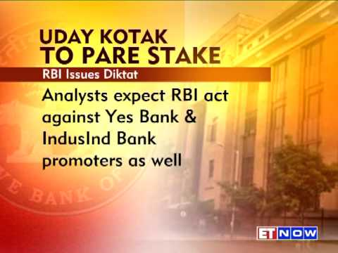 Kotak Mahindra Bank's Stock Plunges In Trade