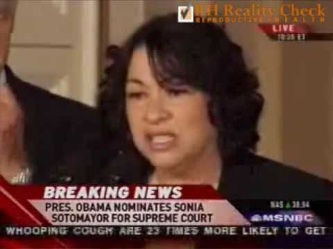 President Obama Announces the Nomination of Judge Sonia Sotomayor for the Supreme Court