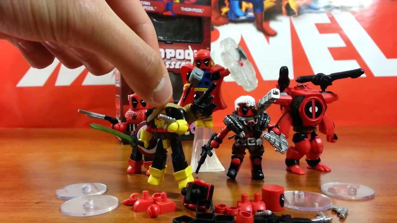 Minimates Deadpool Review Marvel Minimates Deadpool