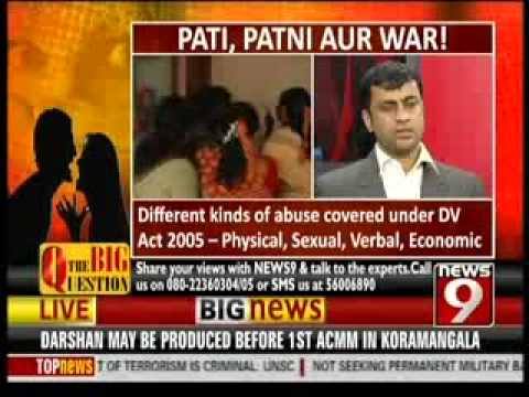 Crisp India - Pati Patni Aur War On news 9 - Part -3 video