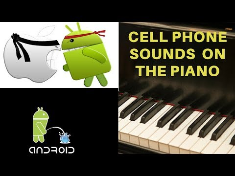 Classic Cell Phone Sounds and Ringtones on the Piano