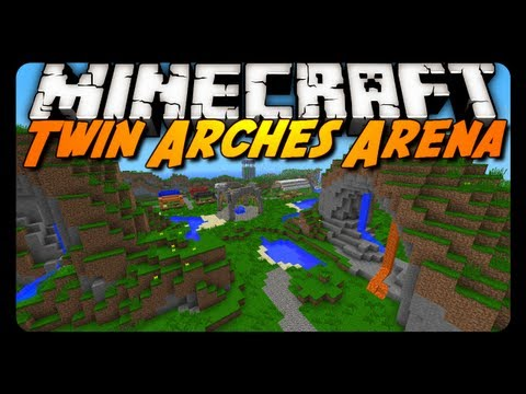 Minecraft: Twin Arches Arena! (SG / PVP Map)