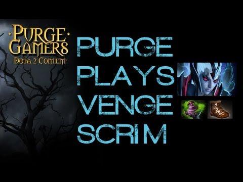 Dota 2 Purge plays Vengeful Spirit