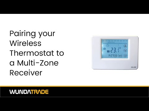 Pairing our Wireless Thermostat to our Multi-zone receiver