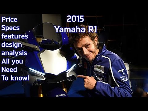 2015 Yamaha R1 First look: design analysis. price. specs. features and review