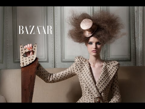 Katie Fogarty by Benjamin Kanarek for Harper s BAZAAR China