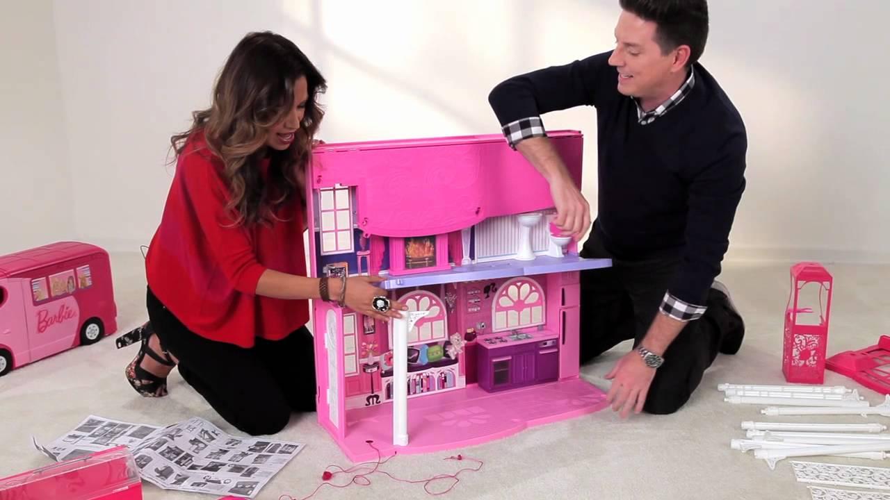 Building A Barbie 3 Story Dream House Youtube