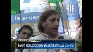 20-05-2013 PARO Y MOVILIZACION DE ESTATALES CTA - CGT