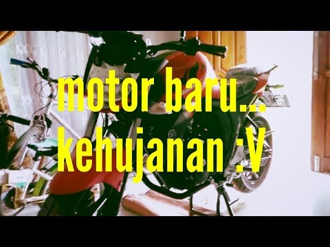 Review YAMAHA BYSON FI 2017 RED MAT (warna Baru)