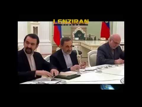 Ali Akbar Velayati special adviser to Ayatollah Khamenei negotiate with Vladimir Putin in Moscow