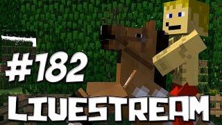 LIVESTREAM #182 Minecraft Com Inscritos