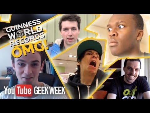Geek Week: Guinness World Records OMG! LIVE Gamers Challenge