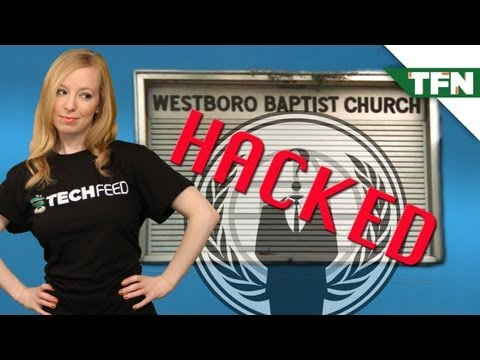 Anonymous Hacks Westboro Baptist Church