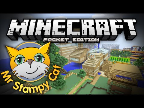 STAMPYS LOVELY WORLD!!! - Stampylonghead's Survival World in MCPE - Minecraft Pocket Edition