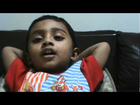 Panchadara Bomma Song By 2 Yrs Old Abhiram Tenneti video