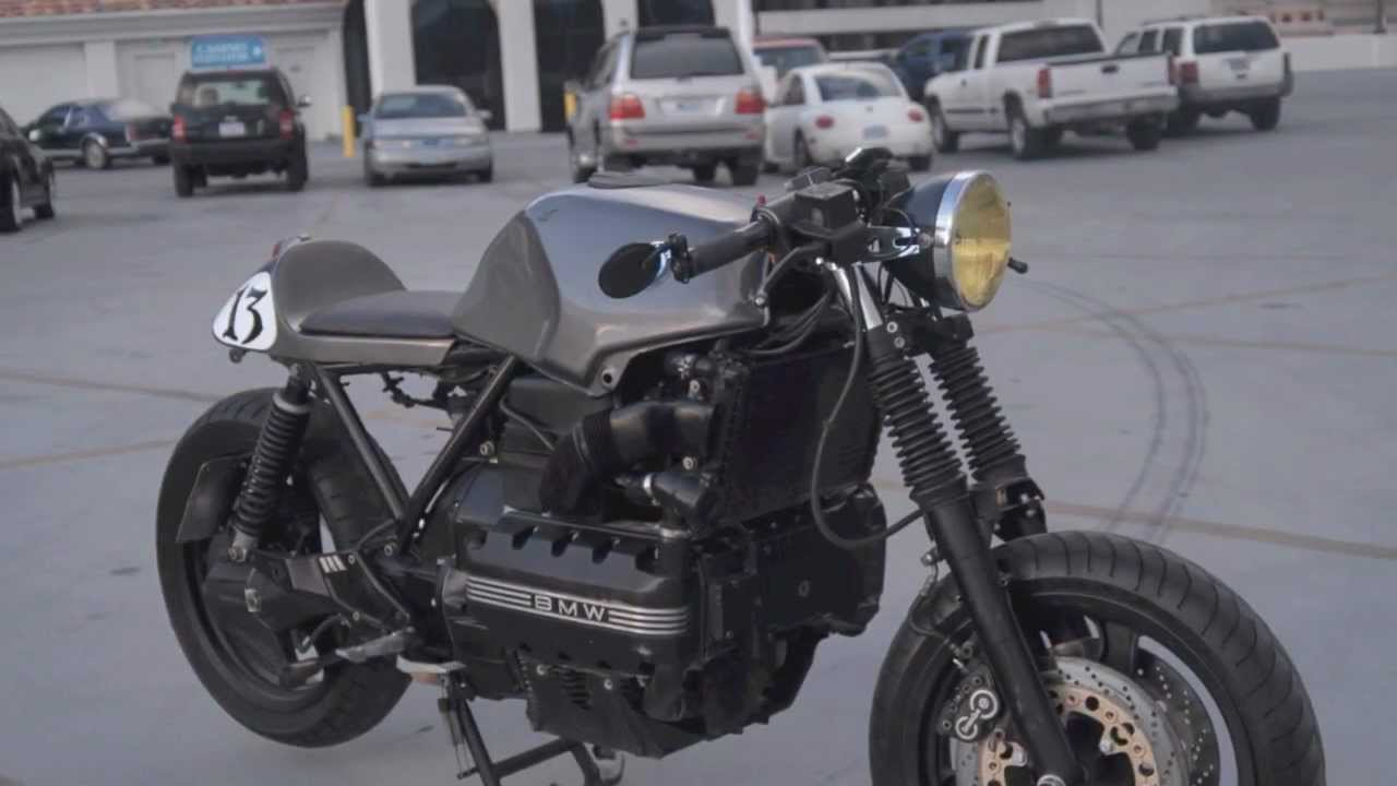 1991 bmw k100rs cafe racer youtube. Black Bedroom Furniture Sets. Home Design Ideas