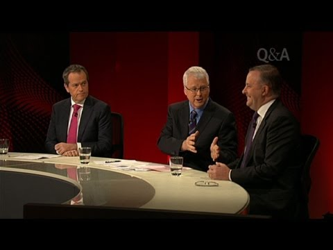 Q&A - ALP Leadership Debate