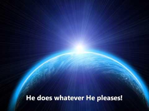 Our God Is In The Heavens w/lyrics (Shai Linne)