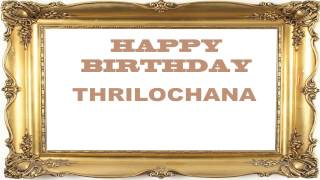 Thrilochana   Birthday Postcards & Postales