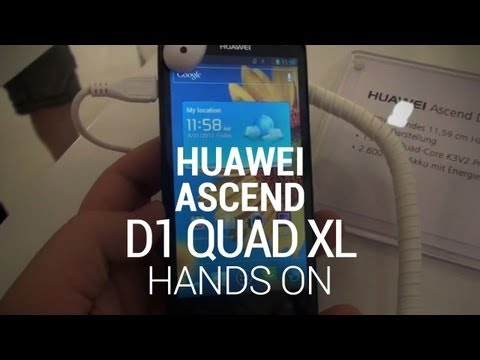 Huawei Ascend D1 Quad XL Hands-On (3)