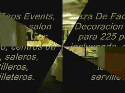 Faos events decoracion color amarillo y negro youtube - Decoracion salon amarillo ...