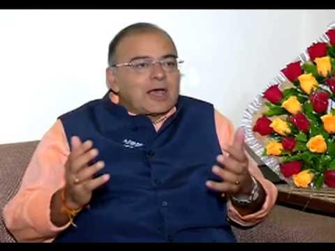 Arun Jaitley interview with ETV