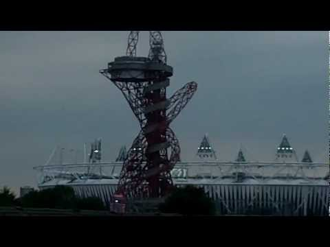London Olympic Stadium Arcelor Mittal Orbit Tower Day Opening Ceremony 27 july 2012