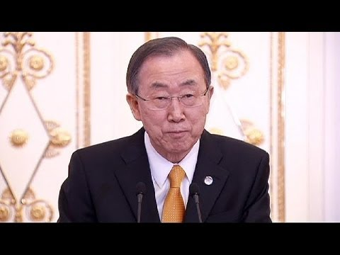 UN chief Ban Ki-moon 'deeply concerned' over Ukraine-Russia tensions