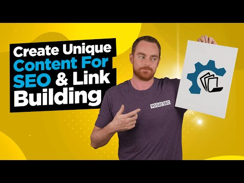 How To Generate Unique Content For Link Building - Kontent Machine 3 Review & Tutorial
