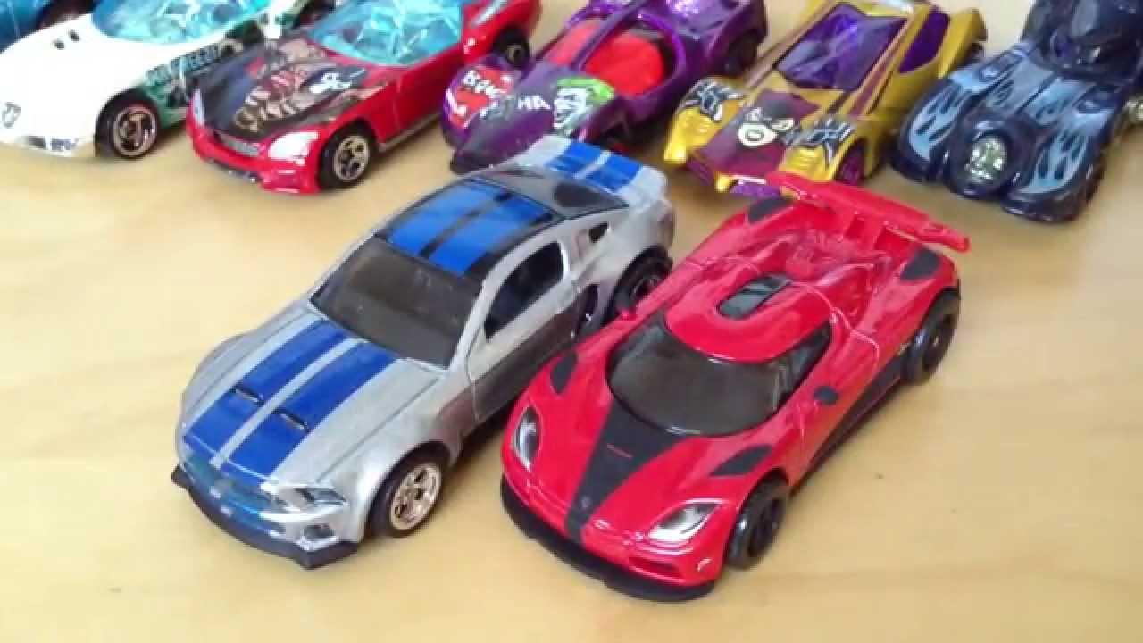 Hot Wheels Koenigsegg Agera R & 2014 Custom Mustang (Need ...