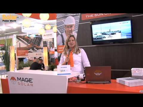 MAGE Solar at PV America West 2012