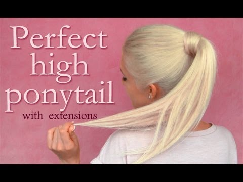 High Ponytail With Clip In Extensions Hairstyle: Perfect Blending Tips And Tricks
