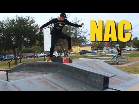 Nick Holt VS The NAC (360 Flip Crooked Grind)