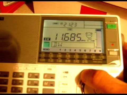 Sangean ATS-909X (Recepcion Onda Corta BANDA 25M / Shortwave Radio)