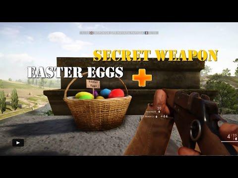 Battlefield 1 -  All Easter Eggs DLC + Secret Weapon