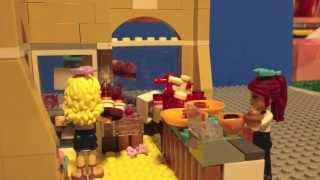 LEGO Friends Downtown Bakery - Stop Motion