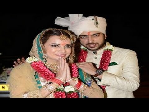 Dia Mirza's WEDDING with Sahil Sangha | PHOTOS Release