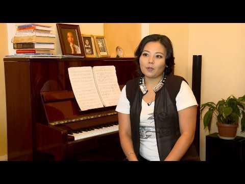 В рубрике «Курьезам быть», камерная певица Салтанат Аман!