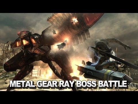 Gear Ray Metal Gear Ray Boss Battle