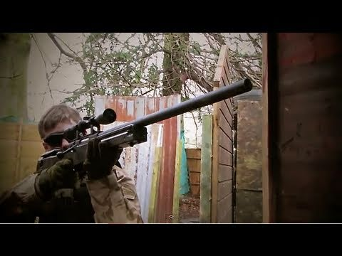 Airsoft War L96, G&P M4 NCIS SCOTLAND HD