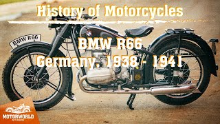 BMW R66 | 1938, Germany. Review & test-drive.