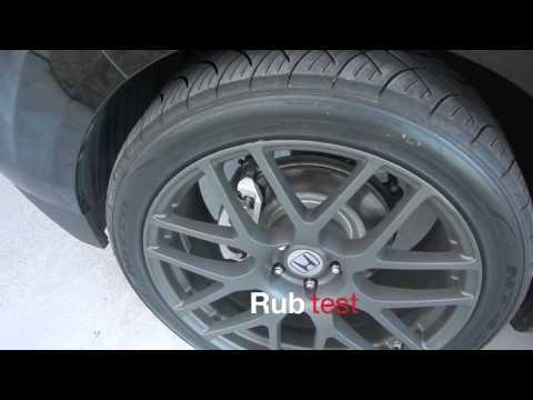 Honda Pilot with 22x10 Nurburgring wheels
