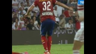 Ramadan sobhy standing on the ball - Heneidy comment