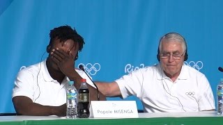 Brazil: Emotional Moment for Refugee Athlete at Rio Olympics
